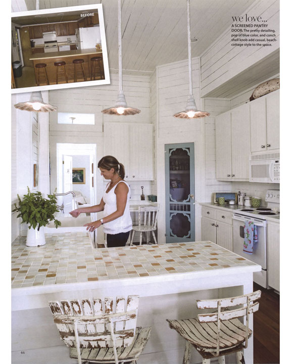 In Print Coastal Living October 2010 Beach House Style Secrets